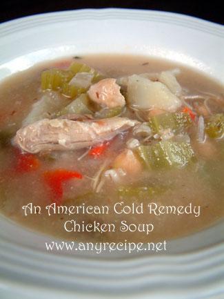 風邪を治すチキンスープの作り方