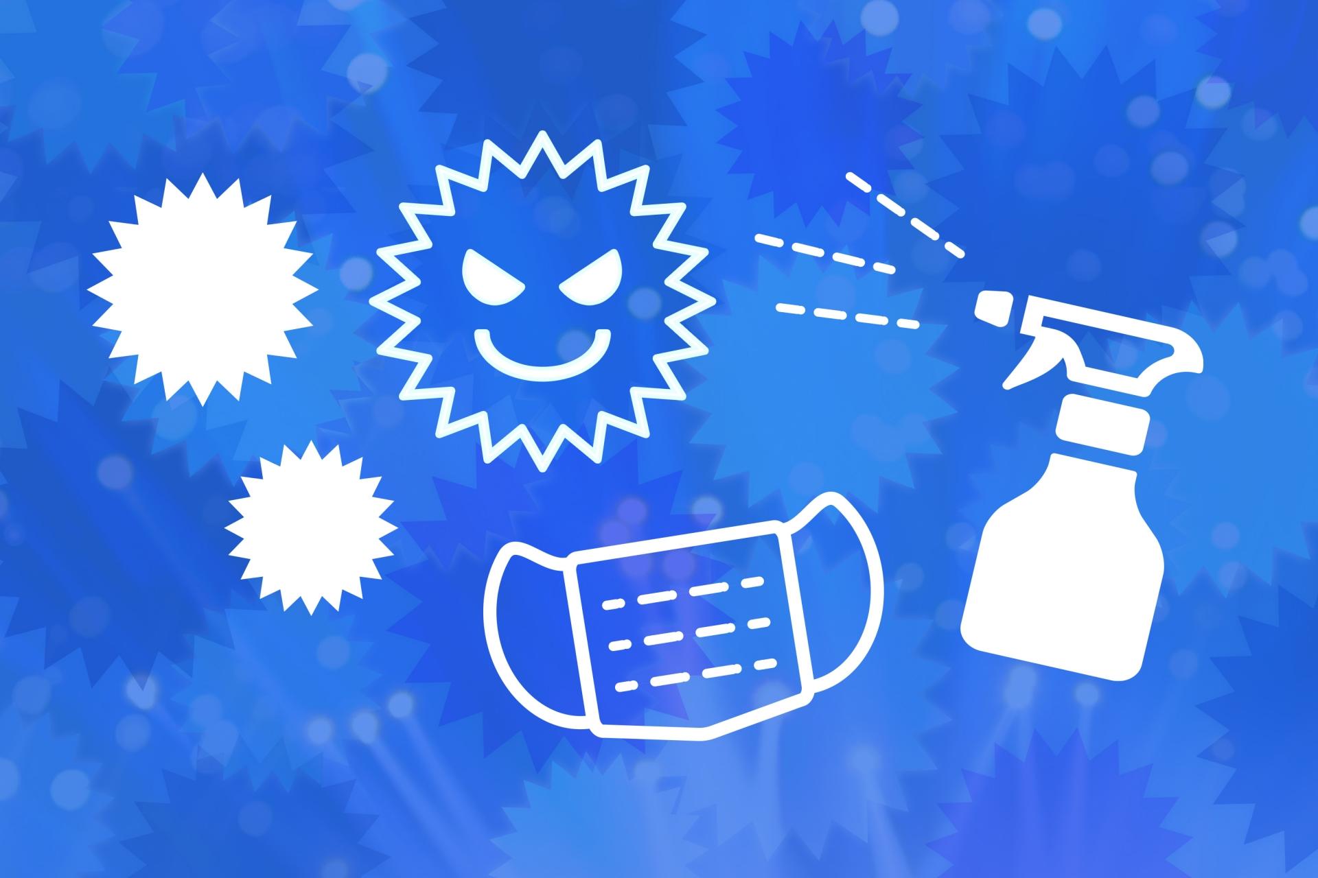 新型ウイルスから身を守るアイデアを紹介します