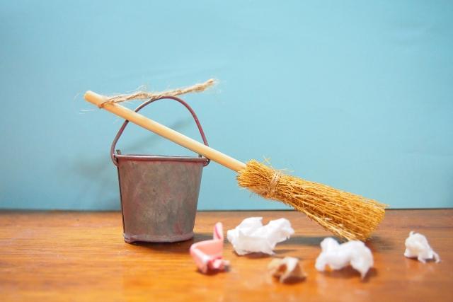 家の大掃除・断捨離をする